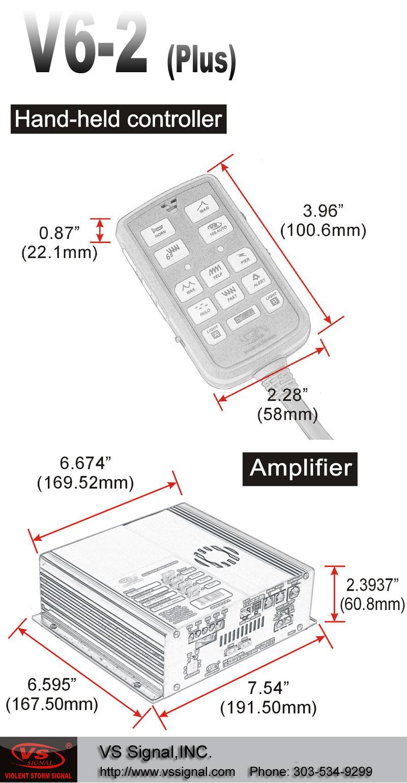 2014款美国原装进口VS Signal V6-2 (V62)警报器-长凯先锋中国总代理美国联邦信号道奇授权代理商